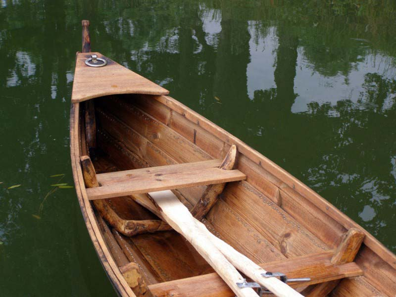 Photos des barques en bois