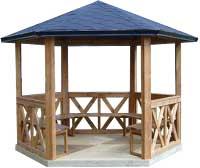 Agrobois cot jardin - Kiosque de jardin en bois pas cher ...