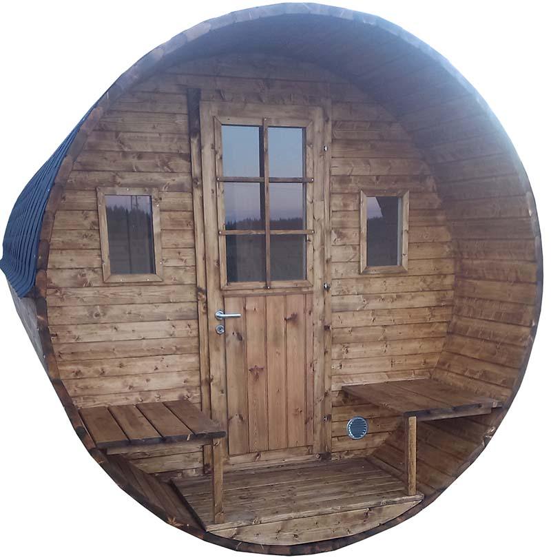 agrobois bain nordique kota sauna baignoire et lavabos en bois. Black Bedroom Furniture Sets. Home Design Ideas